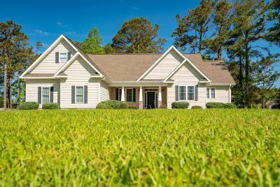 Morehead City Single Family Home For Sale: 1914 Red Fox Lane