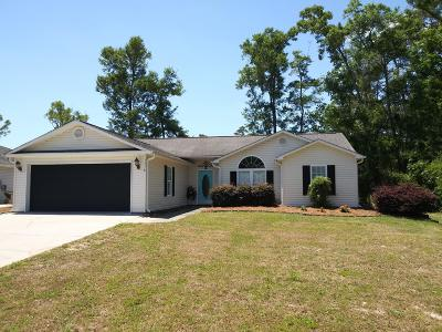 Ocean Isle Beach Single Family Home For Sale: 1578 Eyota Drive SW