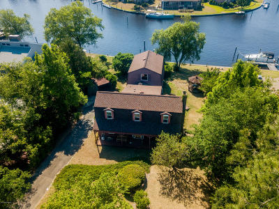 New Bern NC Single Family Home For Sale: $320,000