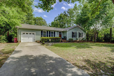 Wilmington Single Family Home For Sale: 123 Albemarle Road