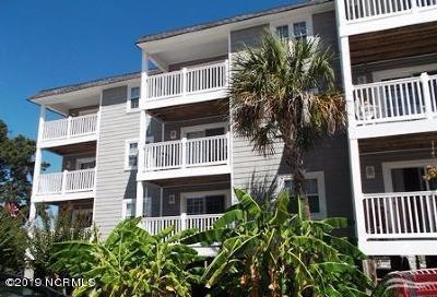 Oak Island Condo/Townhouse For Sale: 5400 E Yacht Drive #A5