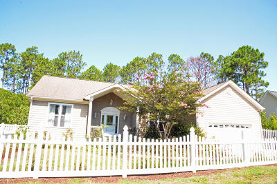 Southport Single Family Home For Sale: 1661 Reidsville Road