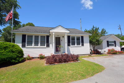 Beaufort NC Single Family Home For Sale: $350,000