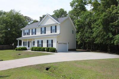 Hubert NC Single Family Home For Sale: $218,000