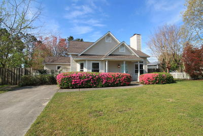 Wilmington NC Single Family Home For Sale: $204,000