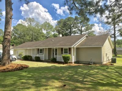 Greenville NC Single Family Home For Sale: $159,900