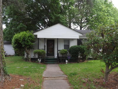 Greenville NC Single Family Home For Sale: $41,900