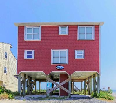 Oak Island NC Single Family Home For Sale: $742,000