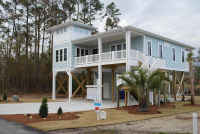 Oak Island NC Single Family Home For Sale: $469,000