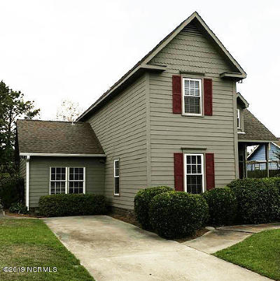 Wilmington NC Single Family Home For Sale: $200,000