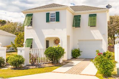 Pine Knoll Shores Condo/Townhouse For Sale: 7 Bermuda Greens Greens