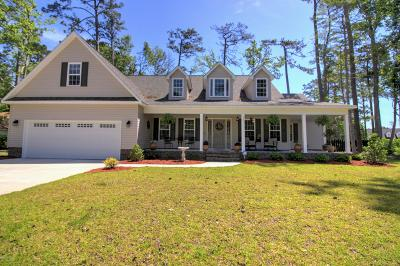 Morehead City Single Family Home For Sale: 402 Hillcrest Drive