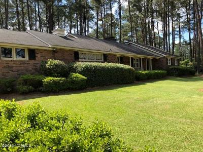 Rocky Mount Single Family Home For Sale: 40 Country Club Drive