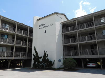 Atlantic Beach Condo/Townhouse For Sale: 2503 W Fort Macon Road W #108a