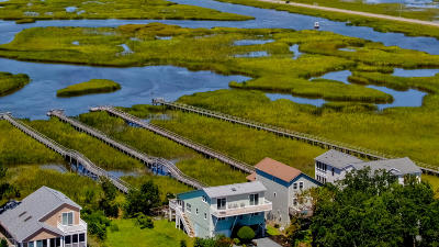 Sunset Beach NC Single Family Home For Sale: $699,000