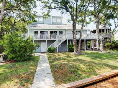 Emerald Isle Single Family Home For Sale: 5108 Bogue Sound Drive