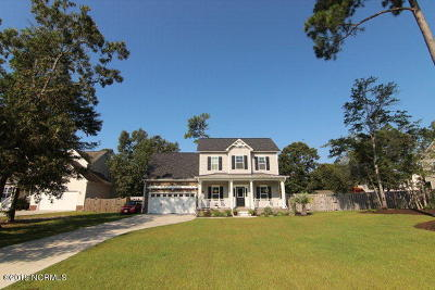 Sneads Ferry Single Family Home For Sale: 224 Everett Drive