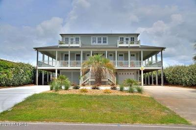 Oak Island NC Single Family Home For Sale: $1,599,900