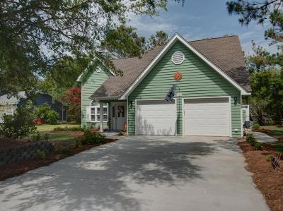 Emerald Isle Single Family Home For Sale: 312 Cape Lookout Loop