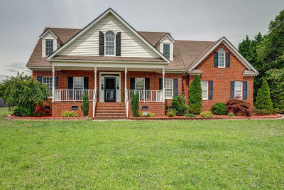 Rocky Mount Single Family Home For Sale: 1574 Fountain Branch Road