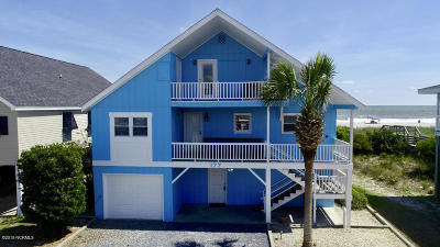Holden Beach Island, Holden Beach Mainland Single Family Home For Sale: 177 Ocean Boulevard W