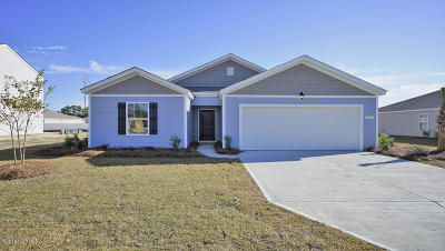 Winnabow Single Family Home For Sale: 2777 Southern Magnolia Drive #Lot 80