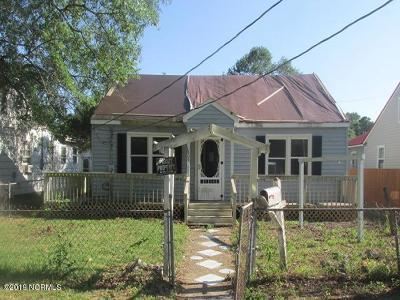 New Bern Single Family Home For Sale: 1809 Asheville Street