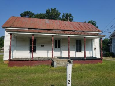 Edgecombe County Single Family Home For Sale: 1122 Branch Street
