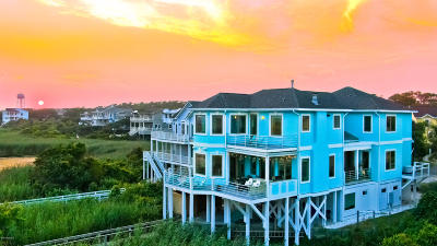 Oak Island NC Single Family Home For Sale: $1,589,000