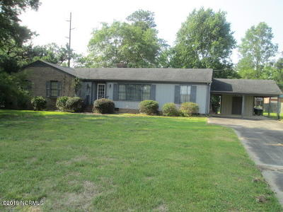 Rocky Mount Single Family Home For Sale: 3501 Colonial Lane