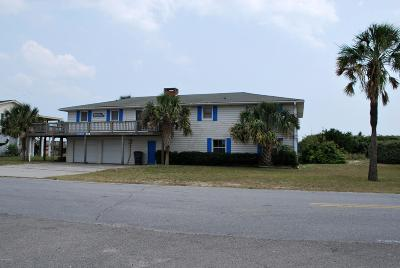 Holden Beach Island, Holden Beach Mainland Single Family Home For Sale: 929 Ocean Boulevard W