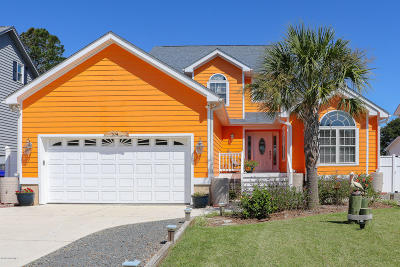 Brunswick County Single Family Home For Sale: 704 W Yacht Drive