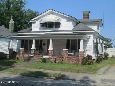 Nash County Single Family Home For Sale: 1009 S Franklin Street