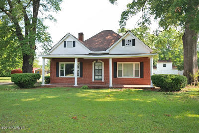 Rocky Mount Single Family Home For Sale: 1905 Cokey Road