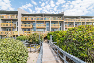 Pine Knoll Shores Condo/Townhouse For Sale: 319 Salter Path Road #9