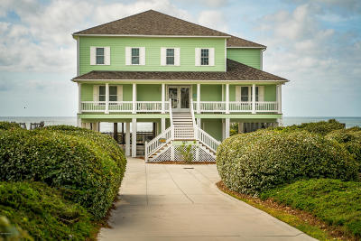 Emerald Isle NC Single Family Home Active Contingent: $2,250,000