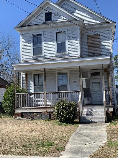 Kinston Single Family Home For Sale: 608 Mitchell Street