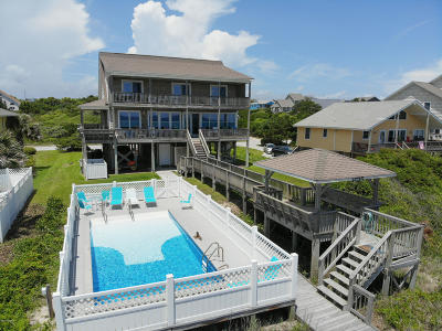 Emerald Isle Single Family Home For Sale: 6715 Ocean Drive