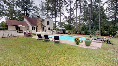 New Bern Single Family Home For Sale: 2436 Tram Road