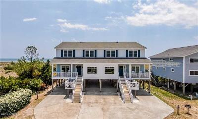 Holden Beach Island, Holden Beach Mainland Single Family Home For Sale: 1227 Ocean Boulevard W