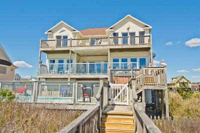 Emerald Isle Single Family Home For Sale: 8507 Ocean View Drive