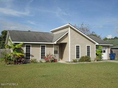 Havelock NC Single Family Home Active Contingent: $114,900