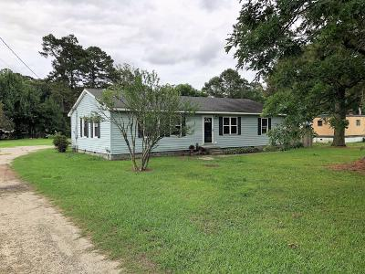 Kinston Single Family Home For Sale: 721 Tully Hill Road