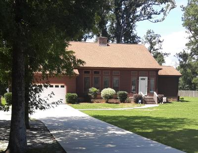 New Bern NC Single Family Home For Sale: $215,000