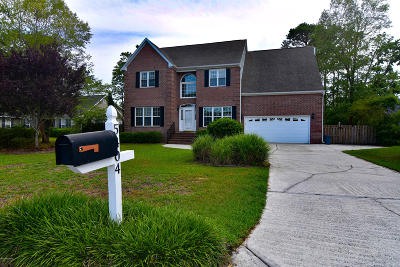 New Hanover County Single Family Home For Sale: 5404 Beretta Way