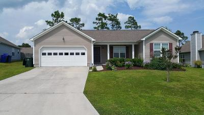 Holly Ridge, Sneads Ferry, Surf City, Topsail Beach Rental For Rent: 341 Rose Bud Lane