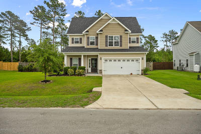 Hubert NC Single Family Home Active Contingent: $235,000