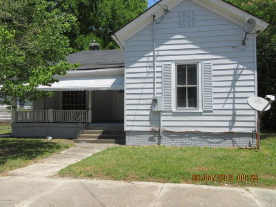 Edgecombe County Single Family Home For Sale: 723 Clark Street