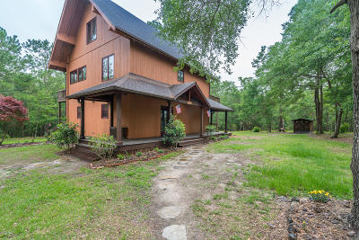 Brunswick County Single Family Home For Sale: 1620 Reidsville Road