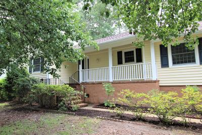New Bern NC Single Family Home For Sale: $184,900